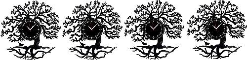 "Tree Vinyl Record Clock 12"""