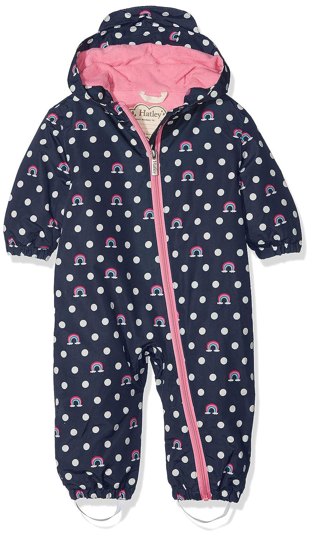 Hatley Girls' Baby Microfiber Rain Bundlers Jacket