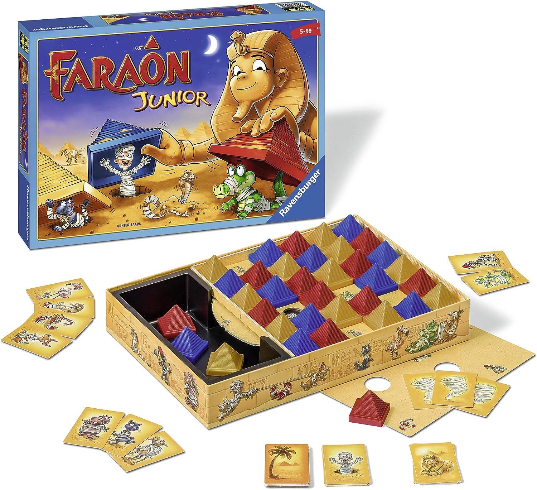 Ravensburger - Faraon Junior (21447): Amazon.es: Juguetes y juegos
