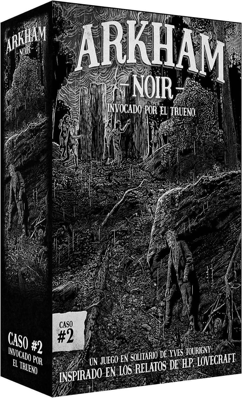 Ludonova - Juego de cartas Arkham Noir 2: Invocado por el trueno, Español (LDNV230001): Amazon.es: Juguetes y juegos