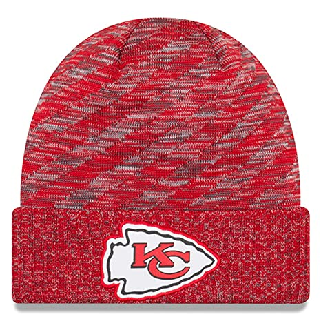 f23cb00cf85 Image Unavailable. Image not available for. Color  New Era Kansas City  Chiefs Beanie NFL 2018 On Field TD Knit ...