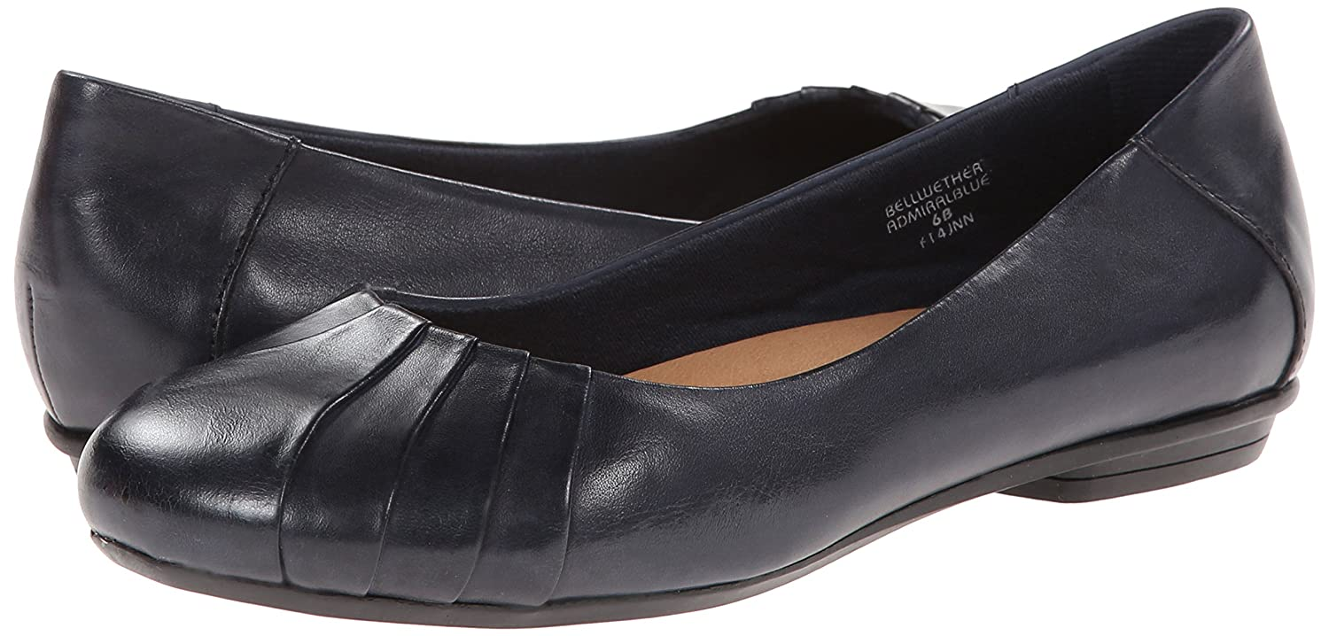 Earth Women's Bellwether Flat B00CZ6XR4I 7.5 Leather B(M) US|Admiral Blue Calf Leather 7.5 3db5e7