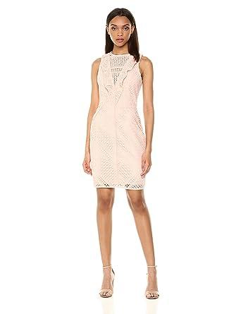 Amazon.com  Adelyn Rae Women s Maxine Woven Lace Sheath Dress  Clothing 03b98d45a4