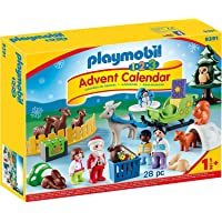 PLAYMOBIL 1.2.3 Advent Calendar Christmas in The Forest 9391 Deals