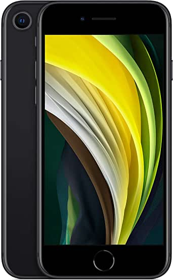 Apple MX9N2LL/A-TF New Total Wireless Prepaid - Apple iPhone SE (64GB) - Black [Locked to Carrier – Total Wireless]