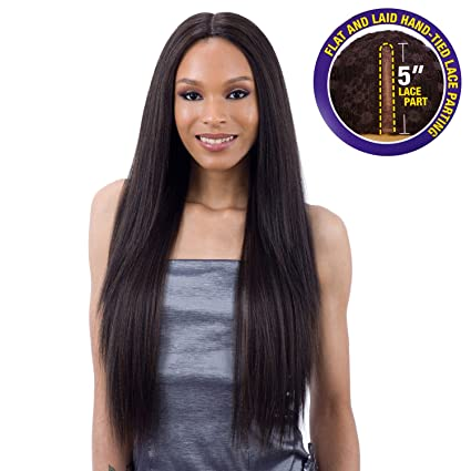 Freetress Equal 5 Inch Lace Part Wig [Valencia] (1 B) by Free Tress Equal
