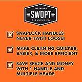 """SWOPT 48"""" Steel Interchangeable Handle - Steel"""