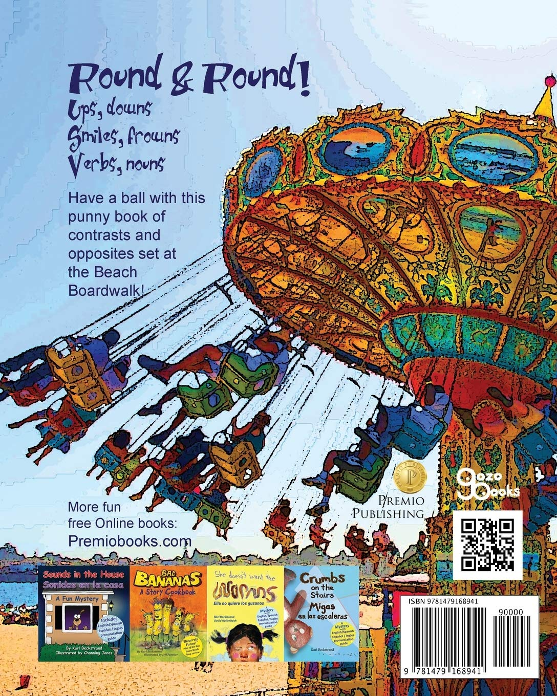 Ups & Downs at the Boardwalk: A Picture Book of Opposites: 1 Concepts for Kids: Amazon.es: Beckstrand, Karl: Libros en idiomas extranjeros