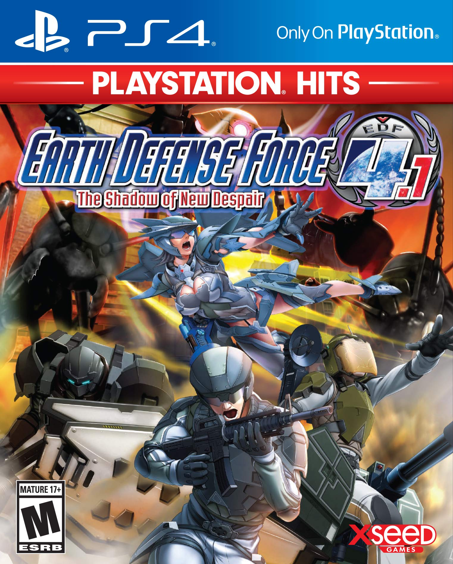 Earth Defense Force 4.1 - PlayStation Hits Edition -...