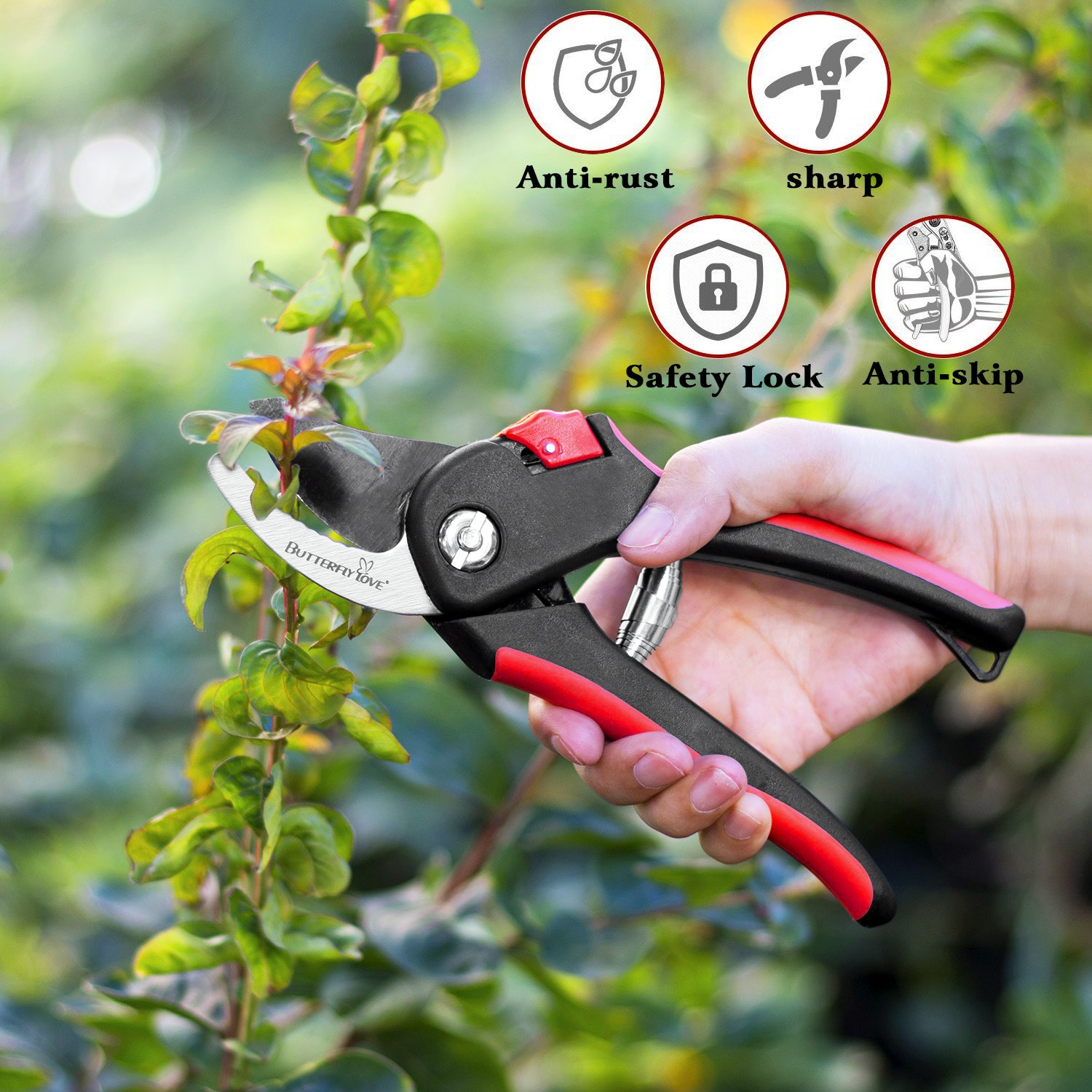 Butterfly Love Garden Pruning Shears, 8\
