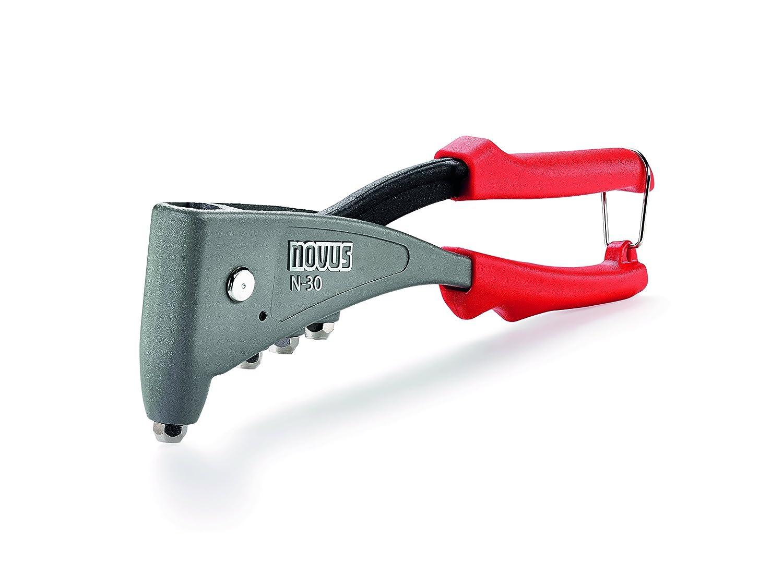 Griffverriegelung ergonomische Profi-Nietzange 1-Hand-Bedienung aus Aluminium und Stahl Novus Blindnietzange N-30