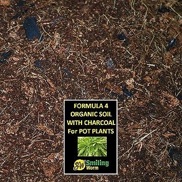 POTTING SOIL, macetas, Compost, para cultivo plantas de melón, medios de comunicación, 4 libre de turba ingredientes orgánicos incluyendo carbón.