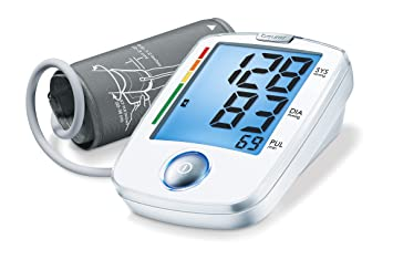 Beurer One Touch Digital Blood Pressure Monitor, With WHO Classification, BM44