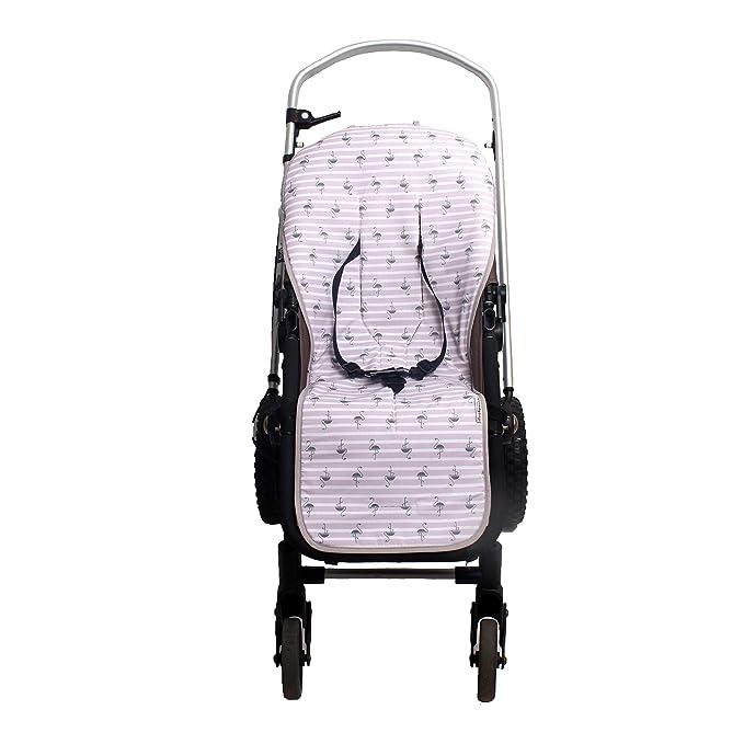 Colchonetas para silla de paseo universal bebé (mint): Amazon.es: Bebé