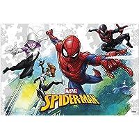 Procos–Spider-Man team-up (120x 180cm) Mantel Plástico 120x 180cm