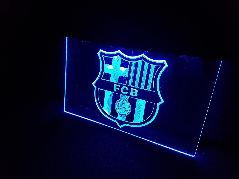 Fc Barcelona Lichtbord Led Nieuw Bord Winkel Reclame Neon Neonbord Barca Amazon Nl