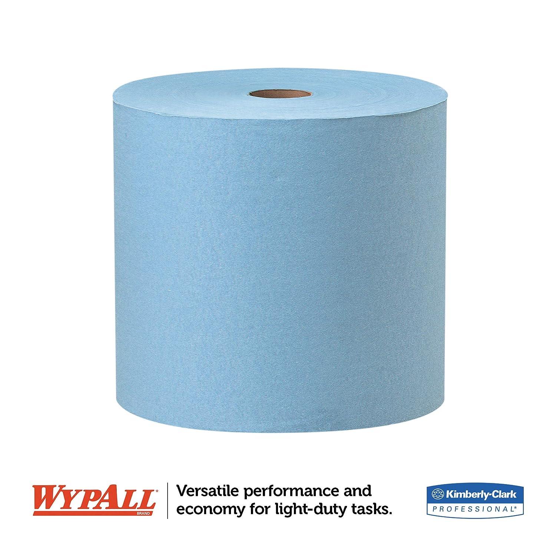WypAll 34965 X60 Limpiaparabrisas, Jumbo Roll, 12 1/2 x 13 2/5, Azul, 1100 hojas por rollo, 1 rollo: Amazon.es: Industria, empresas y ciencia