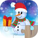 Fun Christmas Wonderland Puzzle Game - A Christmas jigsaw puzzle game app for kids, boys, girls and preschool toddlers under ages 2, 3, 4, 5 years old - Free trial