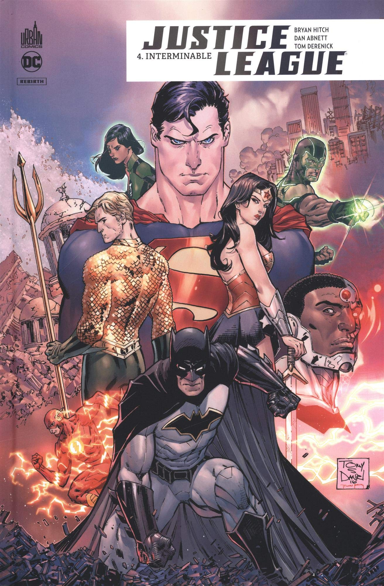 justice league flash manhattan