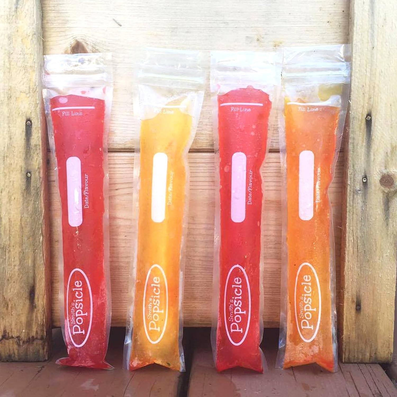 18 ou Pack de 36 Smith/'s réutilisable zip-lock Ice Pop Sachets