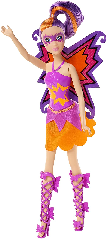 Barbie In Princess Power Butterfly Doll Purple Toys Games Fiction Peplum Dress
