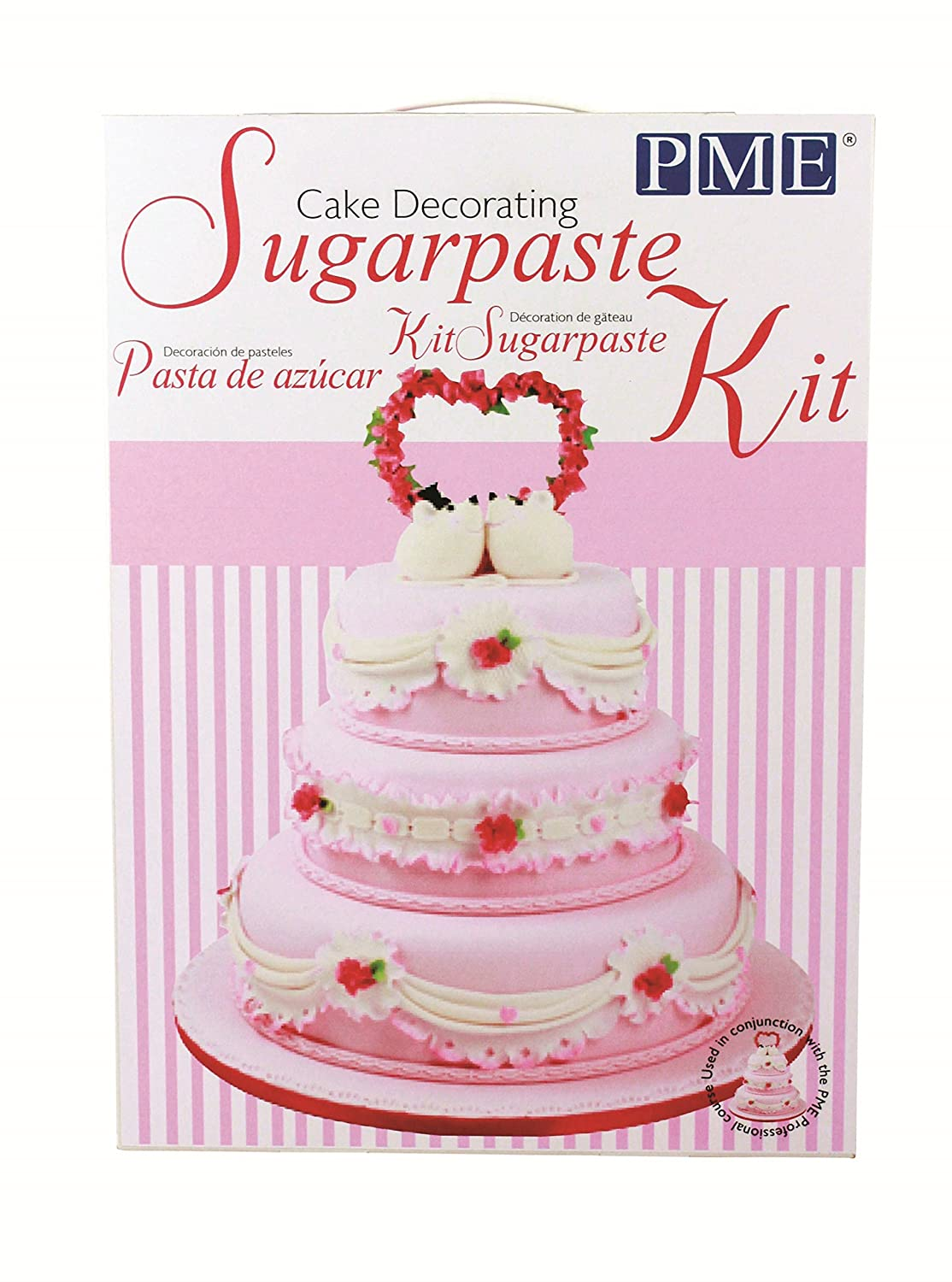 Amazon Com Pme Sugarcraft Cake Decorating Student Kit