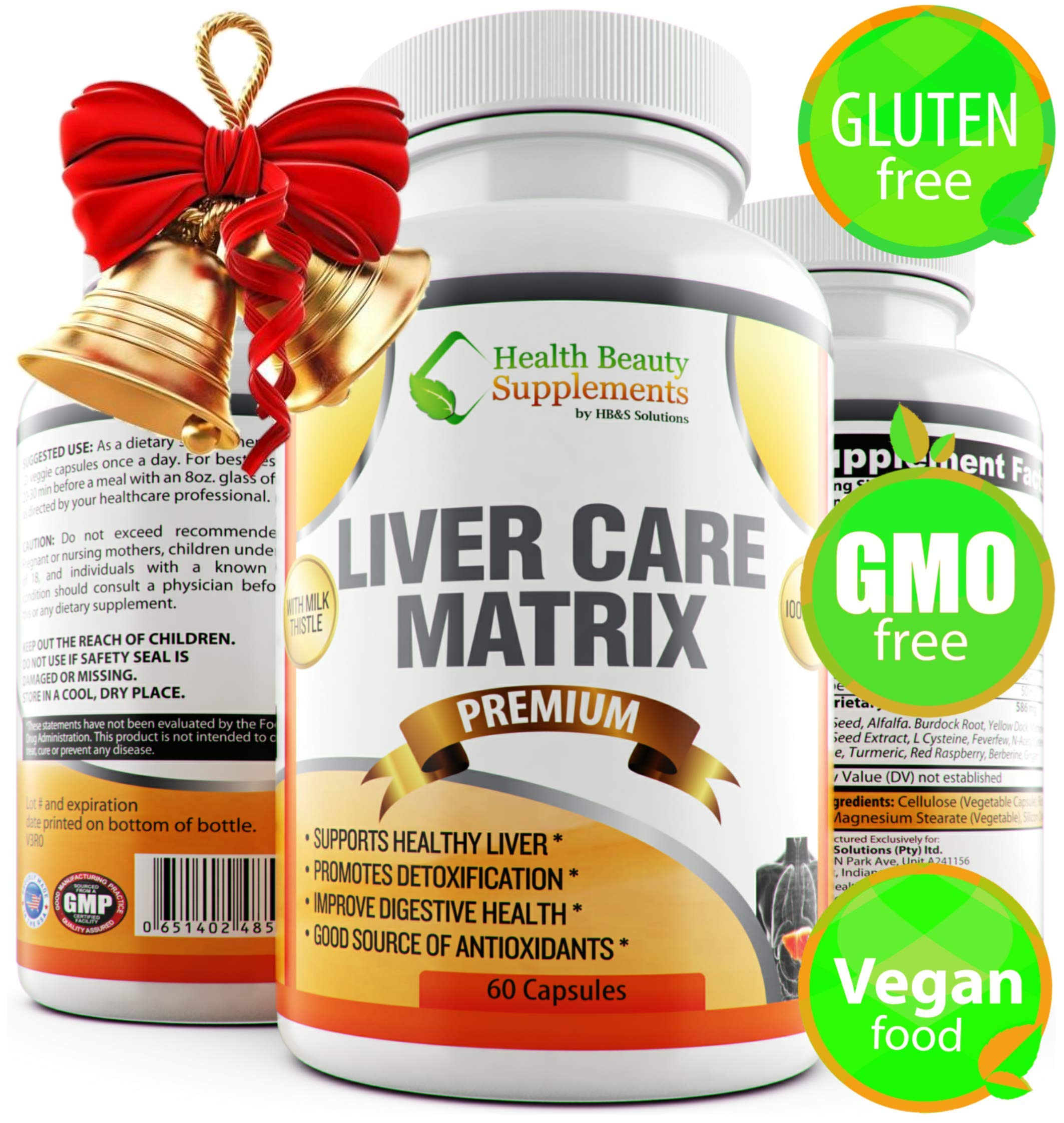 LIVERGREENS by VitaPharm Nutrition | Advanced Liver Care Rescue. 20+ Herbal Extracts | Fatty Liver Detoxifier and…
