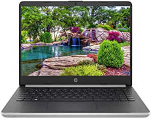 "HP 14 Series 14"" HD SVA BrightView WLED-Backlit Laptop, Intel 10th Gen Core i3-1005G1 up to 3.4GHz, 4GB DDR4, 128GB SSD, USB 3.1-C, Webcam, 802.11ac, Bluetooth, HDMI, Windows 10 Home in S Mode"