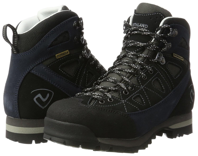 Northland Wallis HC Mountain Boot, Zapatos de High Rise Senderismo Unisex Adulto, Azul (Dk. Navy/Black), 40 EU