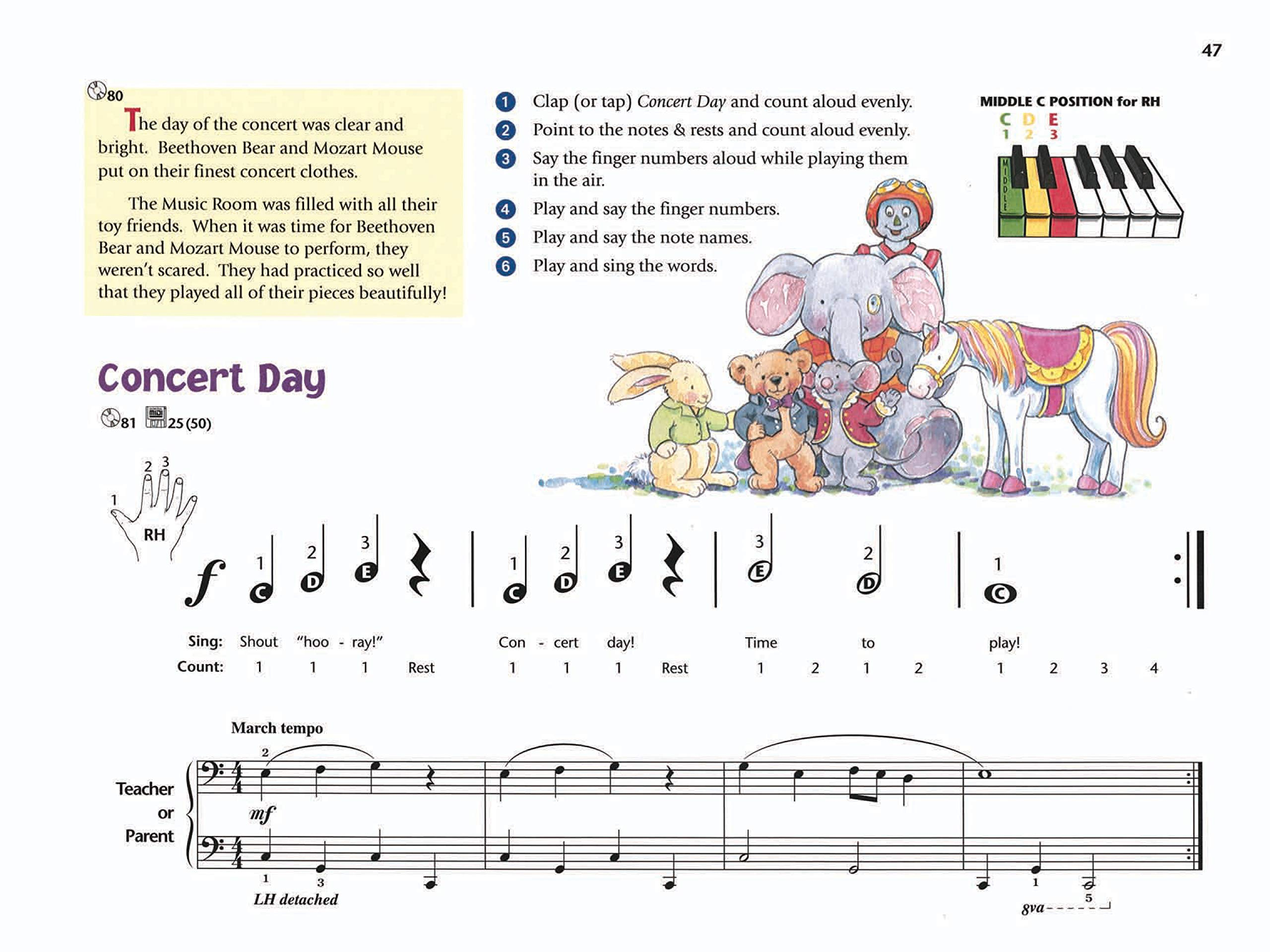 Music for Little Mozarts: Music Lesson Book 1: A Piano Course to Bring Out  the Music in Every Young Child: Amazon.de: Barden, Christine H., Kowalchyk,  Gayle, Lancaster, E. L.: Fremdsprachige Bücher
