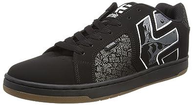 Etnies Metal Mulisha Fader 2, Chaussures de Skateboard Homme, Noir (581-Black/Grey/White), 39 EU