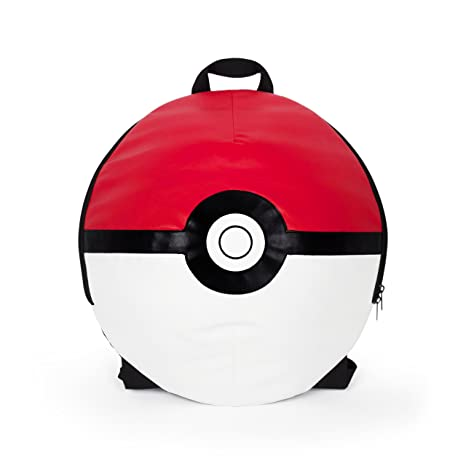 Image Unavailable. Pokemon Boys  Poke Ball 16 quot  Backpack ... c056a297495d2