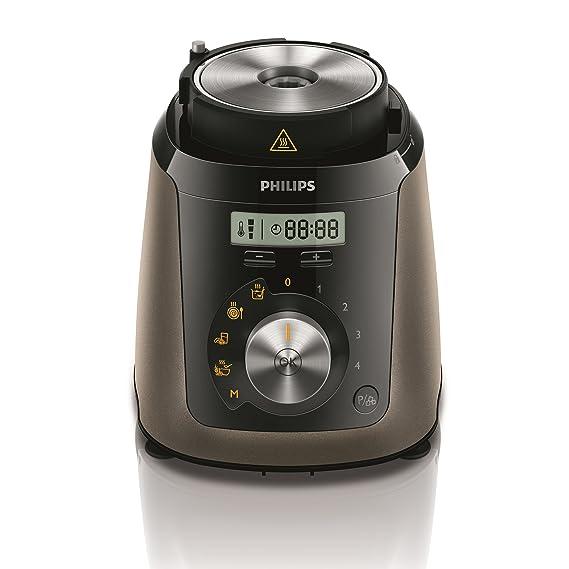 Philips Avance Collection HR2199/00 - Licuadora (2 L, Paso, Botones, palanca, 32000 RPM, Batidora de vaso, Titanio): Amazon.es: Hogar