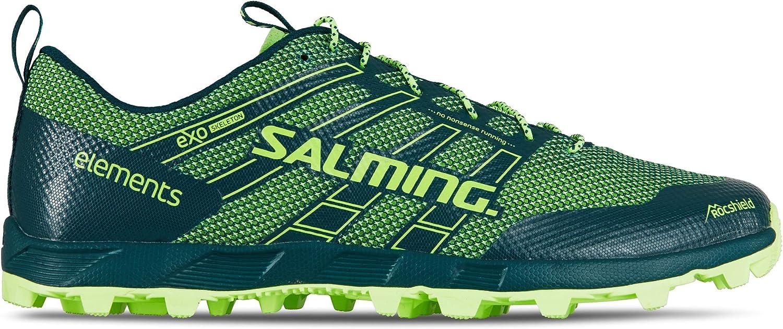 Salming Elements 2 - Zapatillas de Running para Hombre, Color Verde, Verde (Deep Teal/Green), 41.5 EU: Amazon.es: Zapatos y complementos