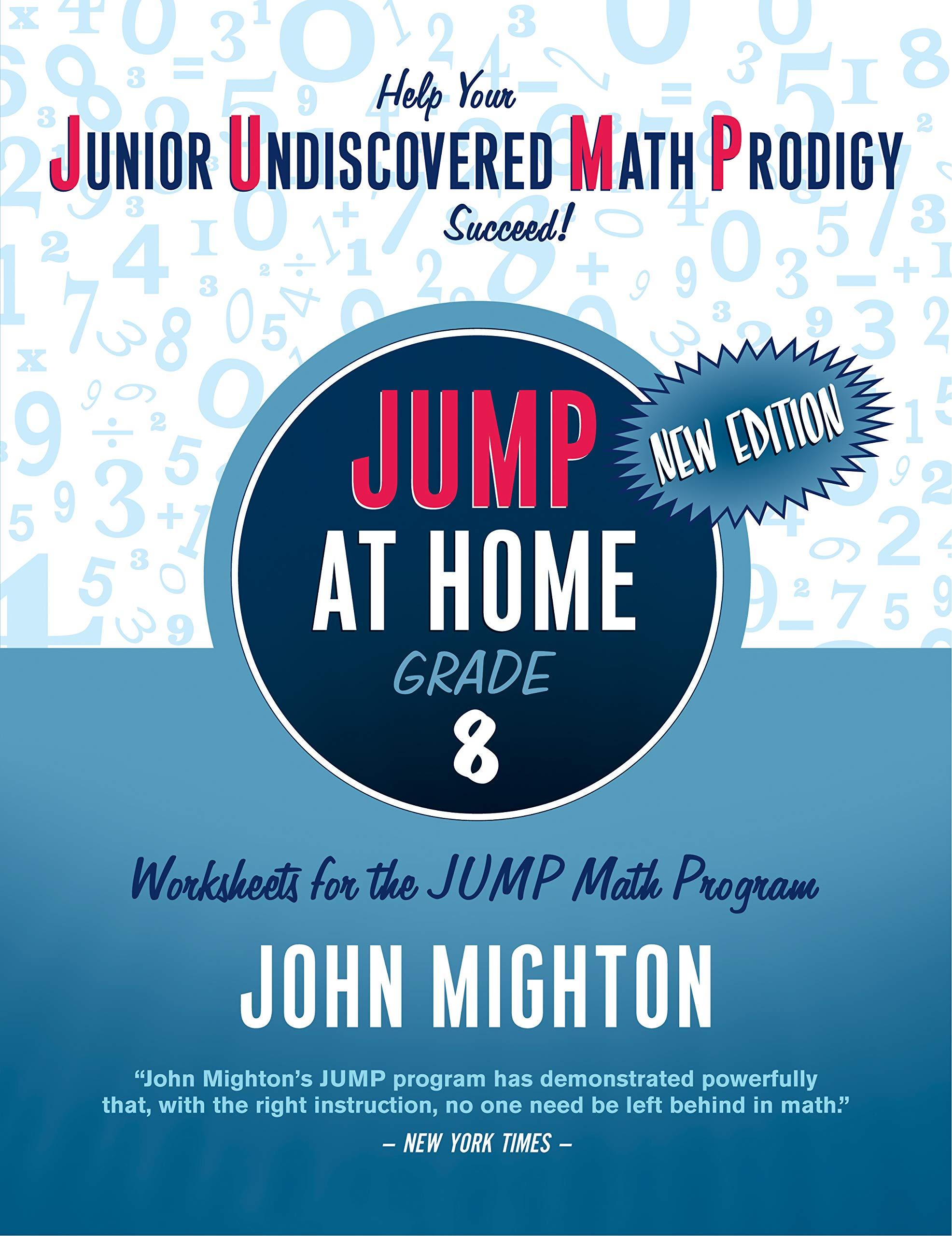 Buy Jump At Home Grade 8 Worksheets For The Jump Math Program Jump