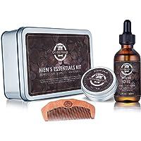 Gentle Vikings Beard Oil and Beard Balm Gift Set Gentle Vikings Beard