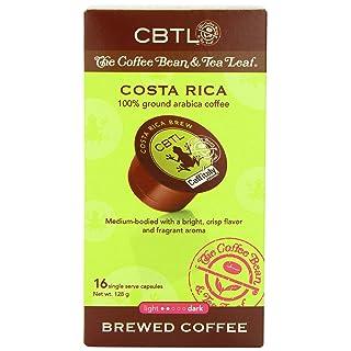 The Coffee Bean & Tea Leaf Coffee Beverage Capsules, Costa Rica Brew, 16-Count