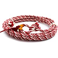 M-Royal 32 Ft White Rodeo Kids Lasso Rope Rodeo Lariat Roping Gear