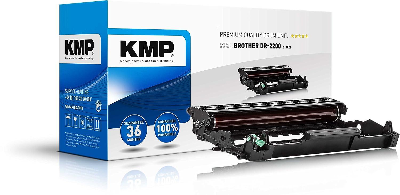 KMP 1257,7000 tambor - Tambor de impresora (Negro, Brother DCP ...