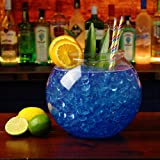 XL Plastic Cocktail Fish Bowl 5 Litre / 8.5 Pints - Giant Plastic Cocktail Sharer