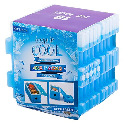 Amazon.com: oicepack nevera infantil bolsa de hielo, Paquete ...