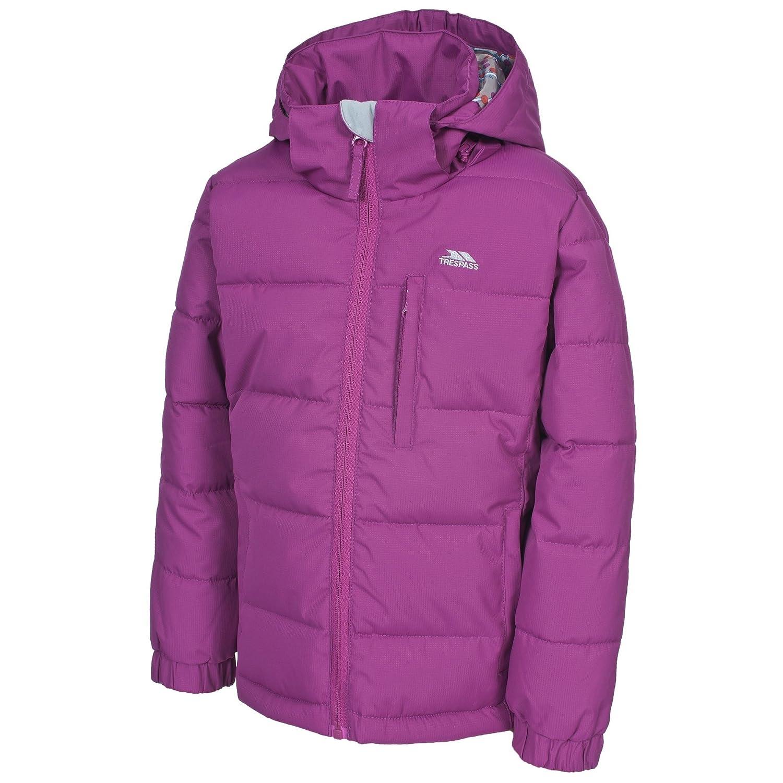 Trespass Childrens Girls Slushy Quilted Winter Jacket (11/12 Years) (Azalea) UTTP1105_3