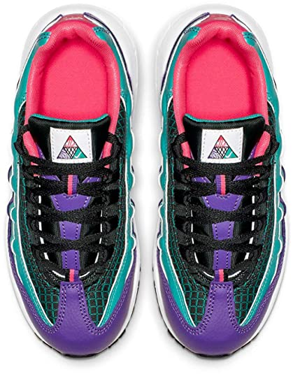 149990b3f8bd4 Amazon.com: Nike Air Max 95 Now Kids Big Kids Bq7219-300 Size 12: Shoes