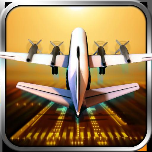 Classic Transport Plane 3D (Jumbo Jet Landing)