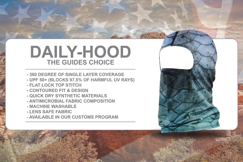 BLACKSTRAP Daily Hood UV Face Mask Balaclava