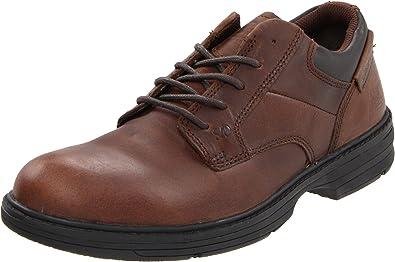 Men's Caterpillar Ridgemont Steel Toe, Size: 9 W, Black