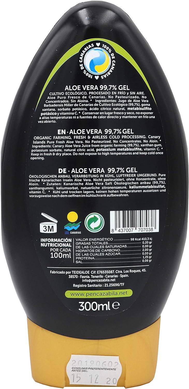 Penca Zábila Gel 99,7% Aloe Vera 300ml