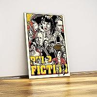 Javvuz - Pulp Fiction - Metal Poster