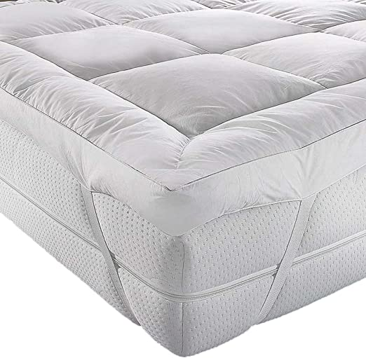 Colchoneta A&R para parte superior de colchón, microfibra, calidad ...