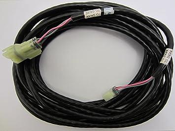 amazon com yamaha oem 20 trim tilt oil level sender wire yamaha oem 20 trim tilt oil level sender wire harness cable 20ft 6y5